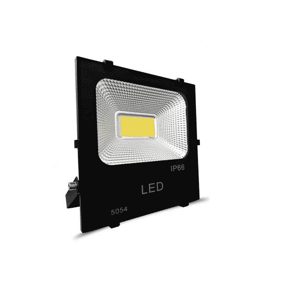 foco led cob 200w 220v negro