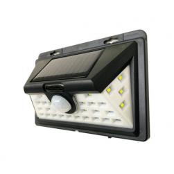 Foco solar 32 led exterior con sensor de movimiento