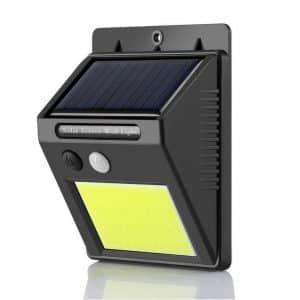 foco solar cob con sensor ip65